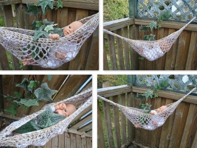Hammock Pattern: Crochet or Macrame, Make It Yourself » All About