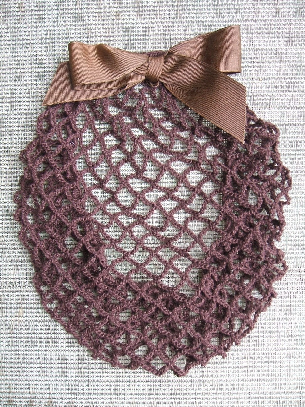 Hair Snood online crochet pattern from crochet kitty