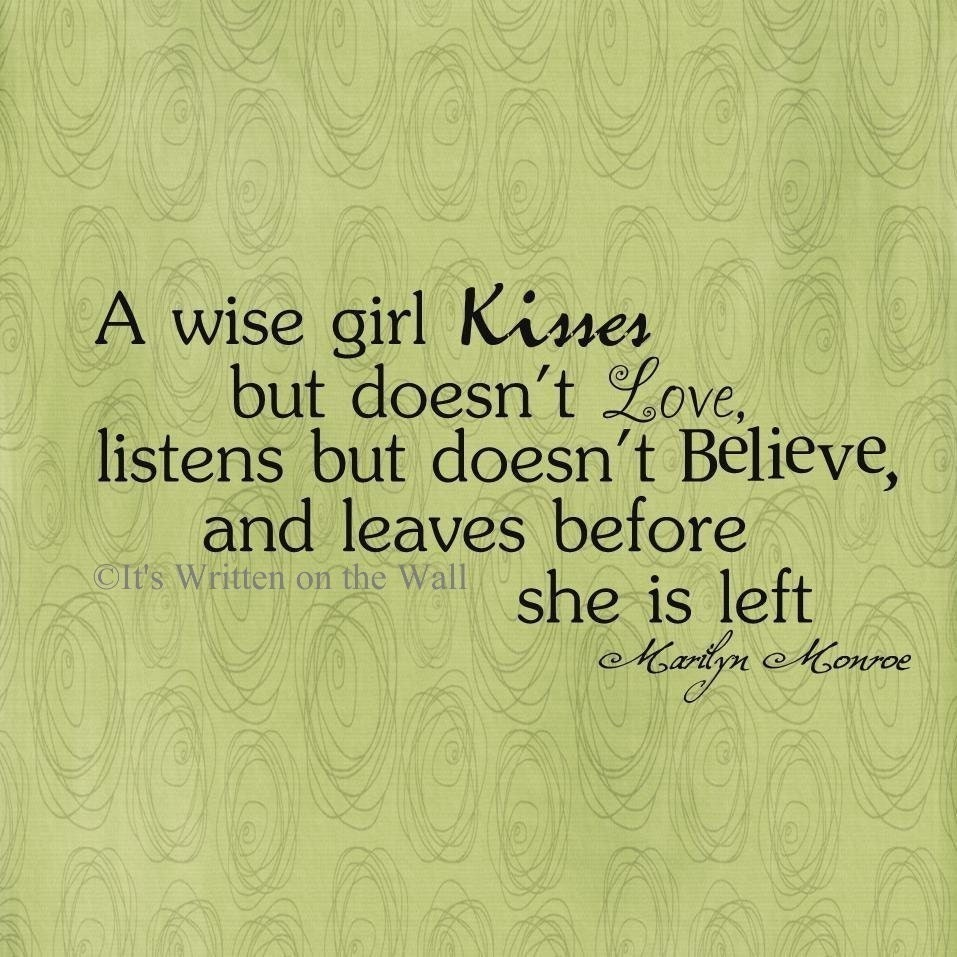 Very Wise Quotes: Marilyn Monroe Quotes Tumblr And Sayings A Wise Girl About