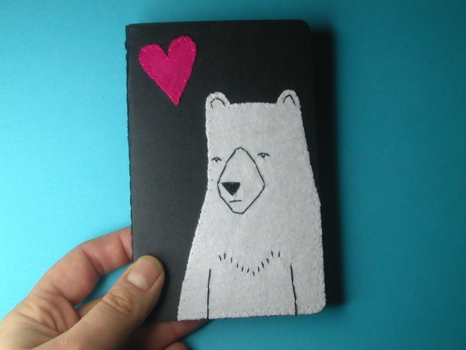 mister bear pocket journal