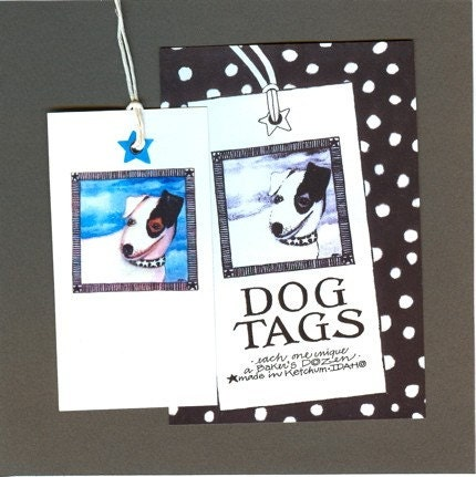 dog. dogs. franeni. gift. gift tag