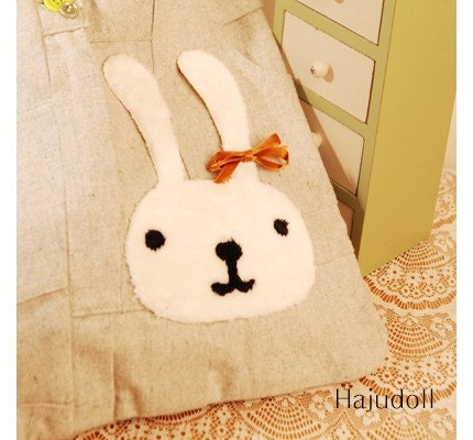 Whie rabbit transfer paper