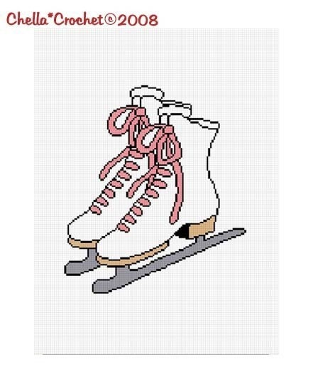 Crochet ice skate ornament [Archive] - Crochetville