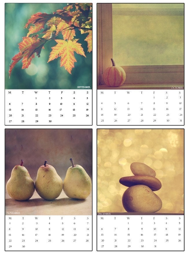 Calendar by ChelseaVictoria Vintage Images