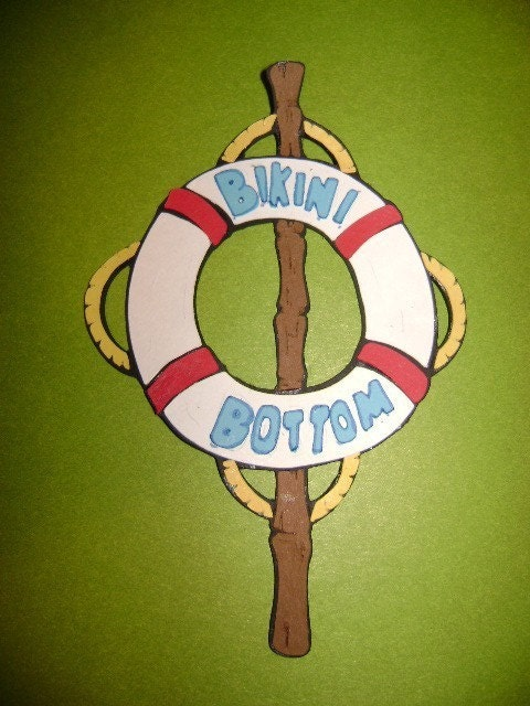 spongebob bikini bottom wallpaper. Bikini Bottom Sign Die Cut