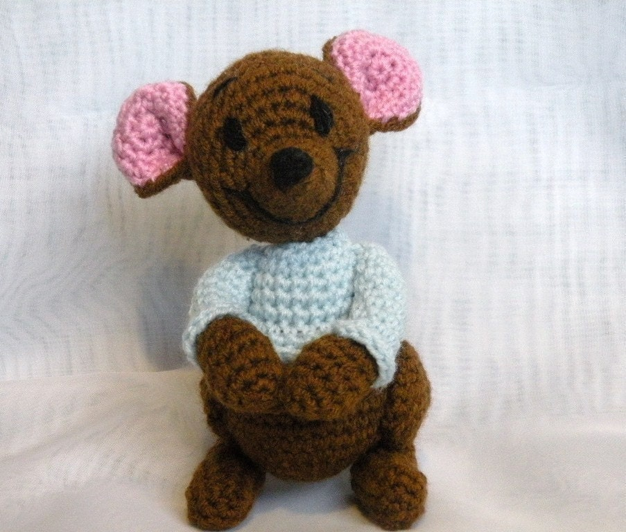WINNIE THE POOH CROCHET PATTERNS FREE PATTERNS