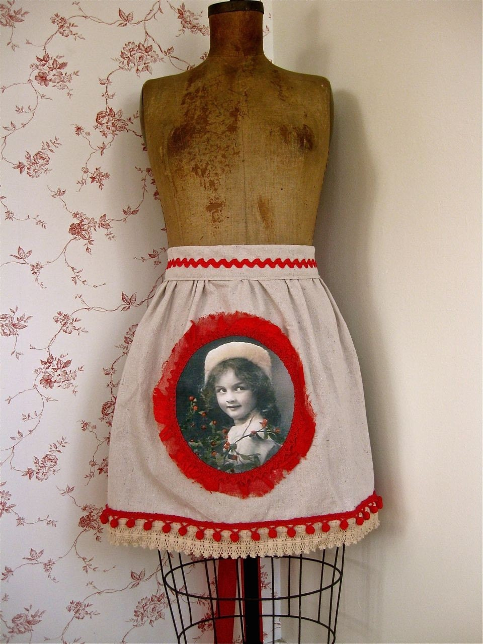Wintertime Girl Apron