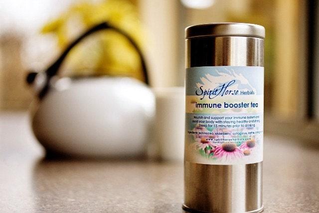 Immune System Support HerbalTea by Spirit Horse Herbals