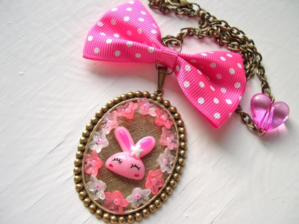Super Cute Kawaii Jewelry at Dina Fragola