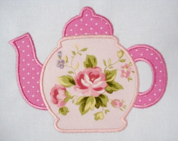Teapot Machine Embroidery Designs 171 Embroidery Amp Origami