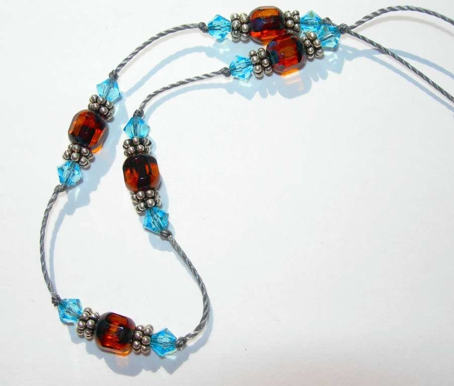 KJBeads anklet from Etsy