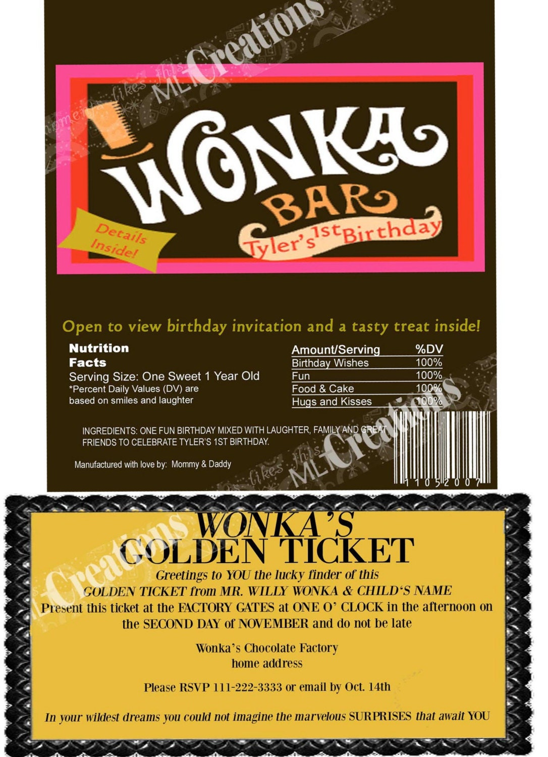free willy wonka golden ticket template