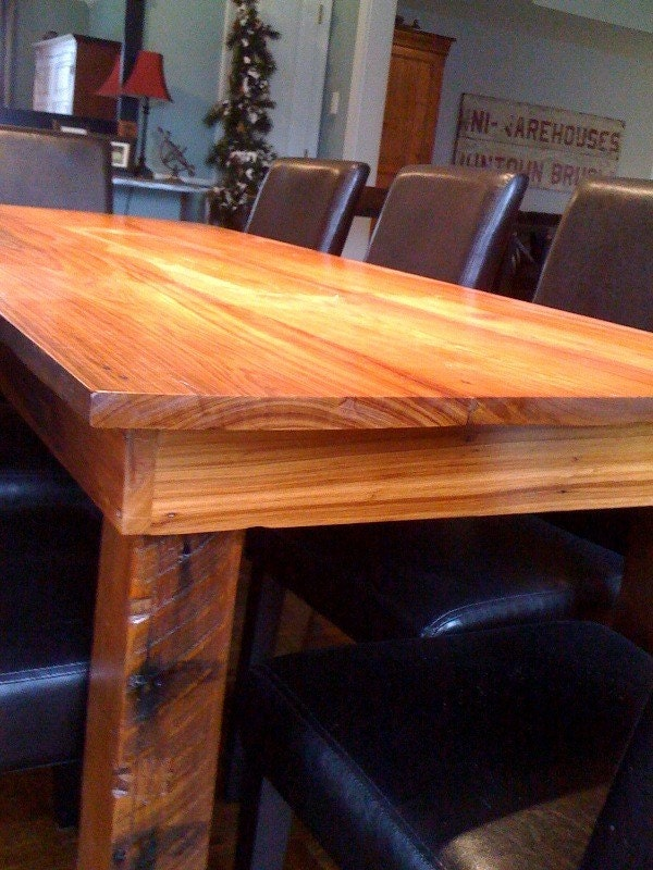 Cypress Dining Table w/ Turned Legs 30x32x82 - Sarasota ... |Artsy Tables Cypress