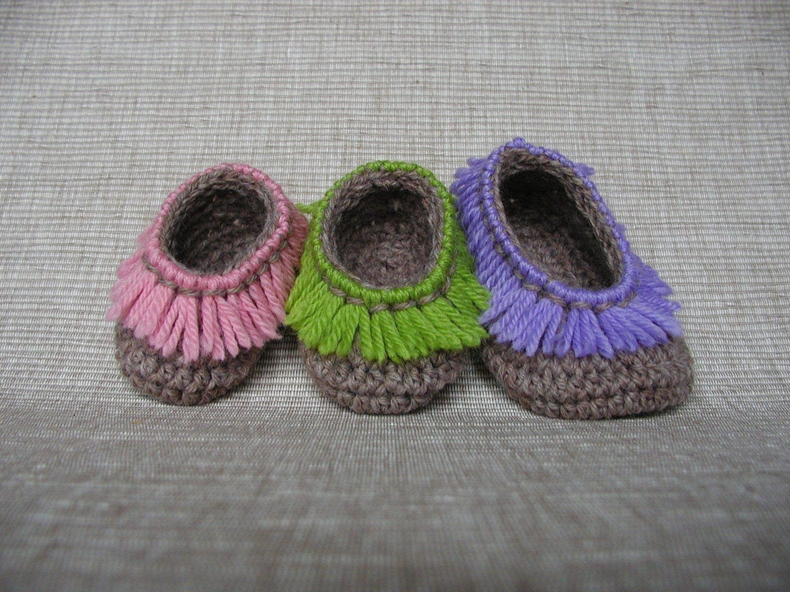 baby crochet shoes free pattern Il_fullxfull.121740887