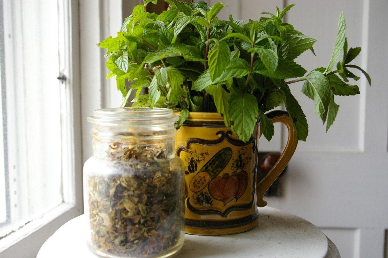 Dried Organic Mint