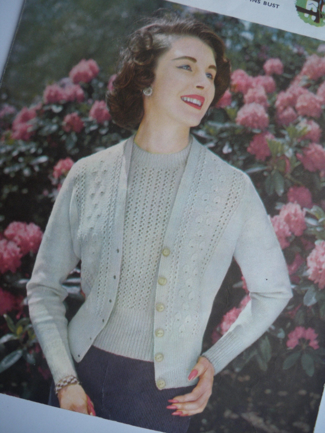 Cardigan Sweater - Traditional and Warm