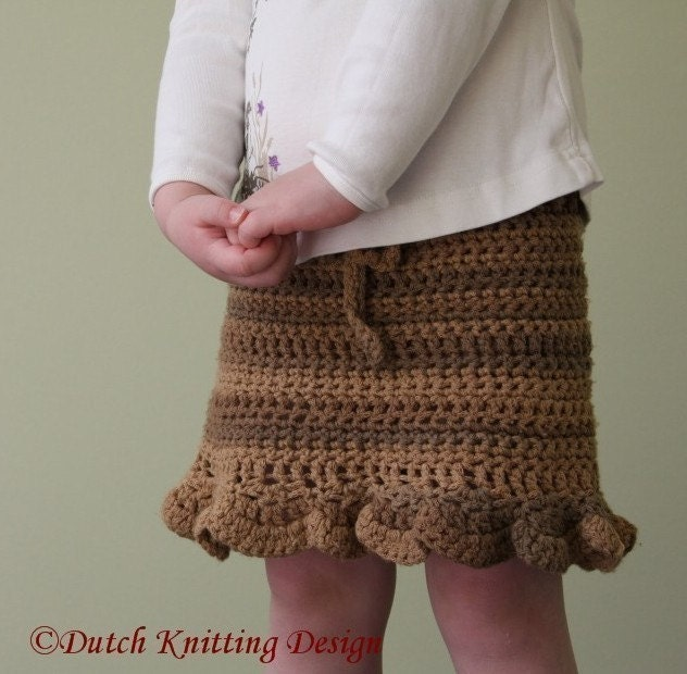 Free Crochet Patterns For Long Skirts : CROCHETED PATTERN SKIRT FREE PATTERNS