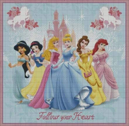 DISNEY COUNTED CROSS STITCH PATTERNS | Browse Patterns