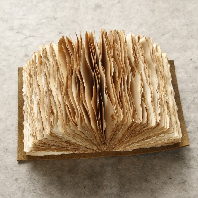 Badger and chirp portland book art workshops take the poll for How to make an old book