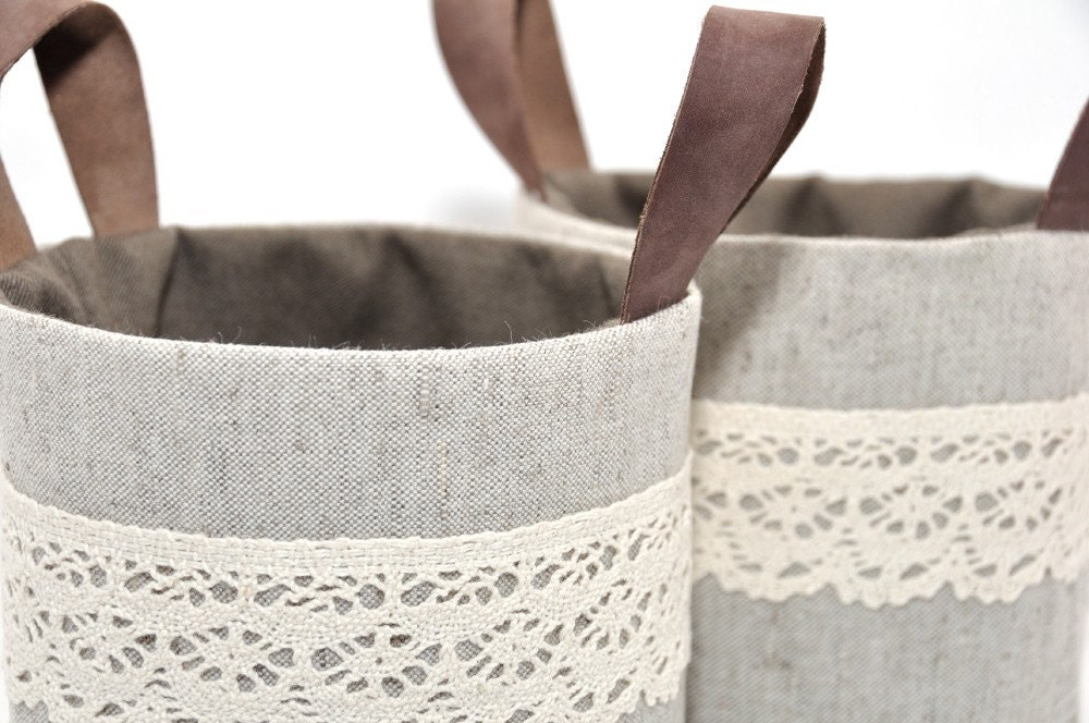 Mini Ollyvia Fabric Baskets Set