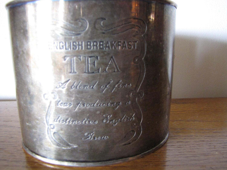 Silver Tea Tin