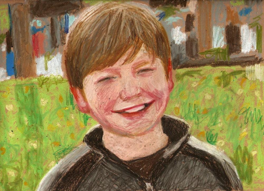 portrait of M