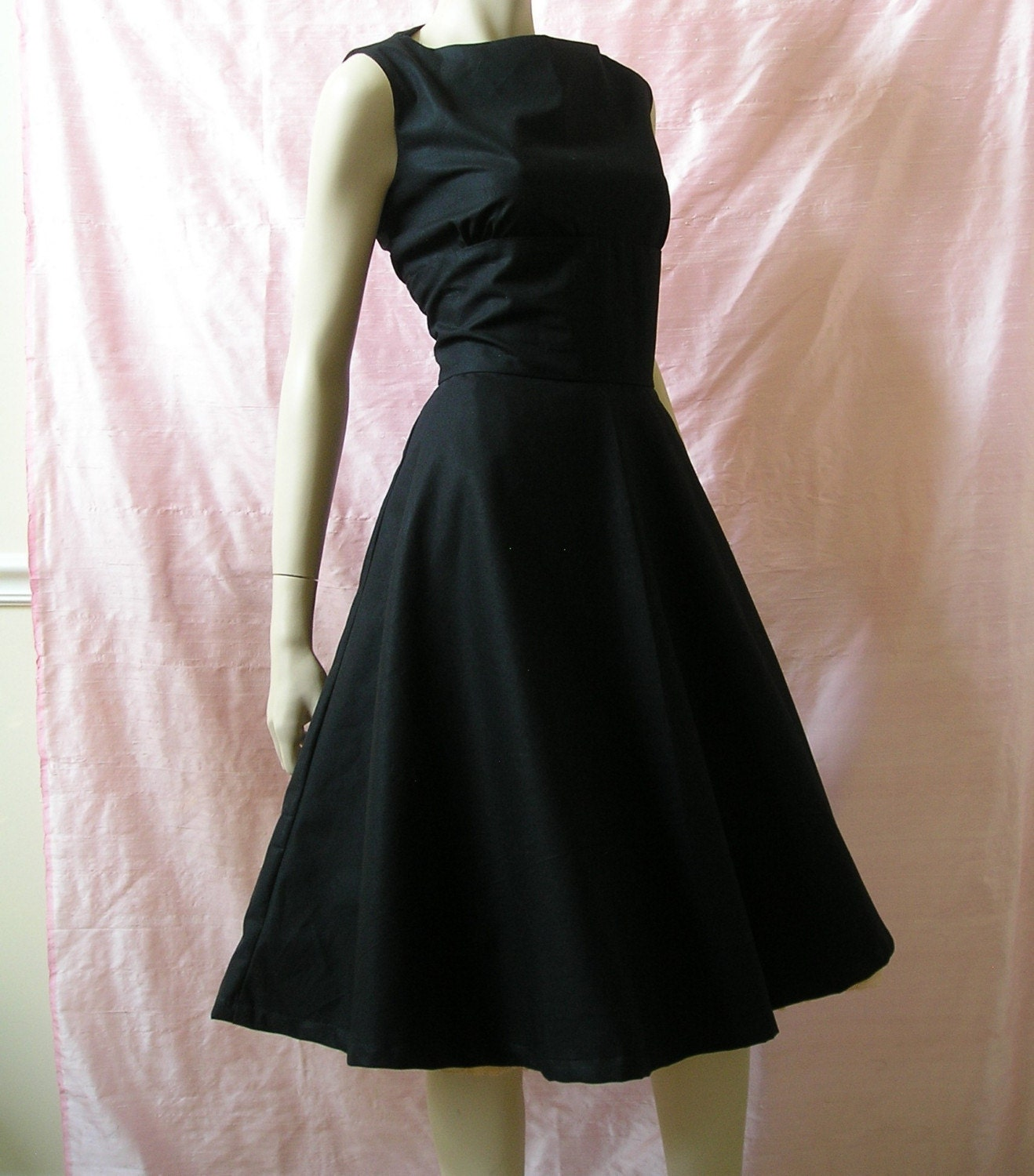 Gorgeous Custom Little Black Audrey Dress