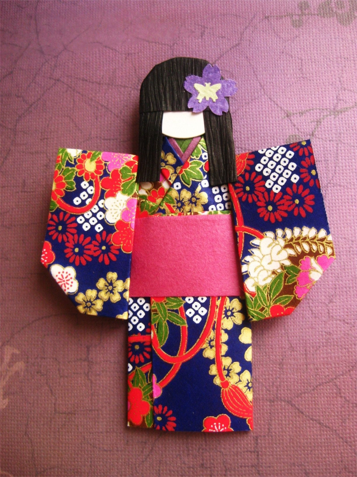 DOLL JAPANESE ORIGAMI « EMBROIDERY & ORIGAMI - photo#40