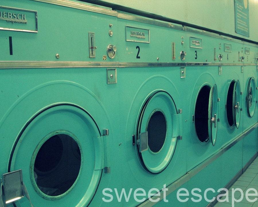 Laundromat - 8x10 photo