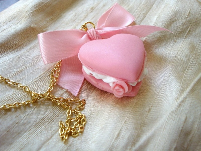 Macaroon Heart Necklace