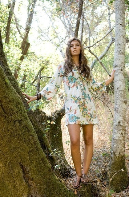 Tunic Dress/Top. Beckoning Creatures.