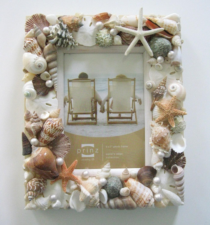 Рамочки для фото из ракушек своими руками