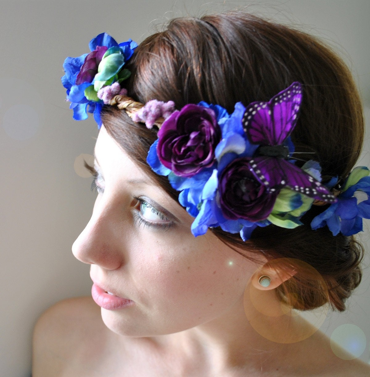 silent spring - floral crown