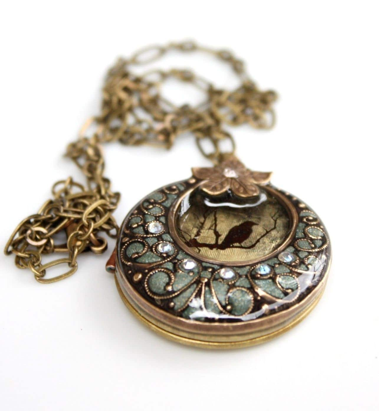 Garden Gate Locket