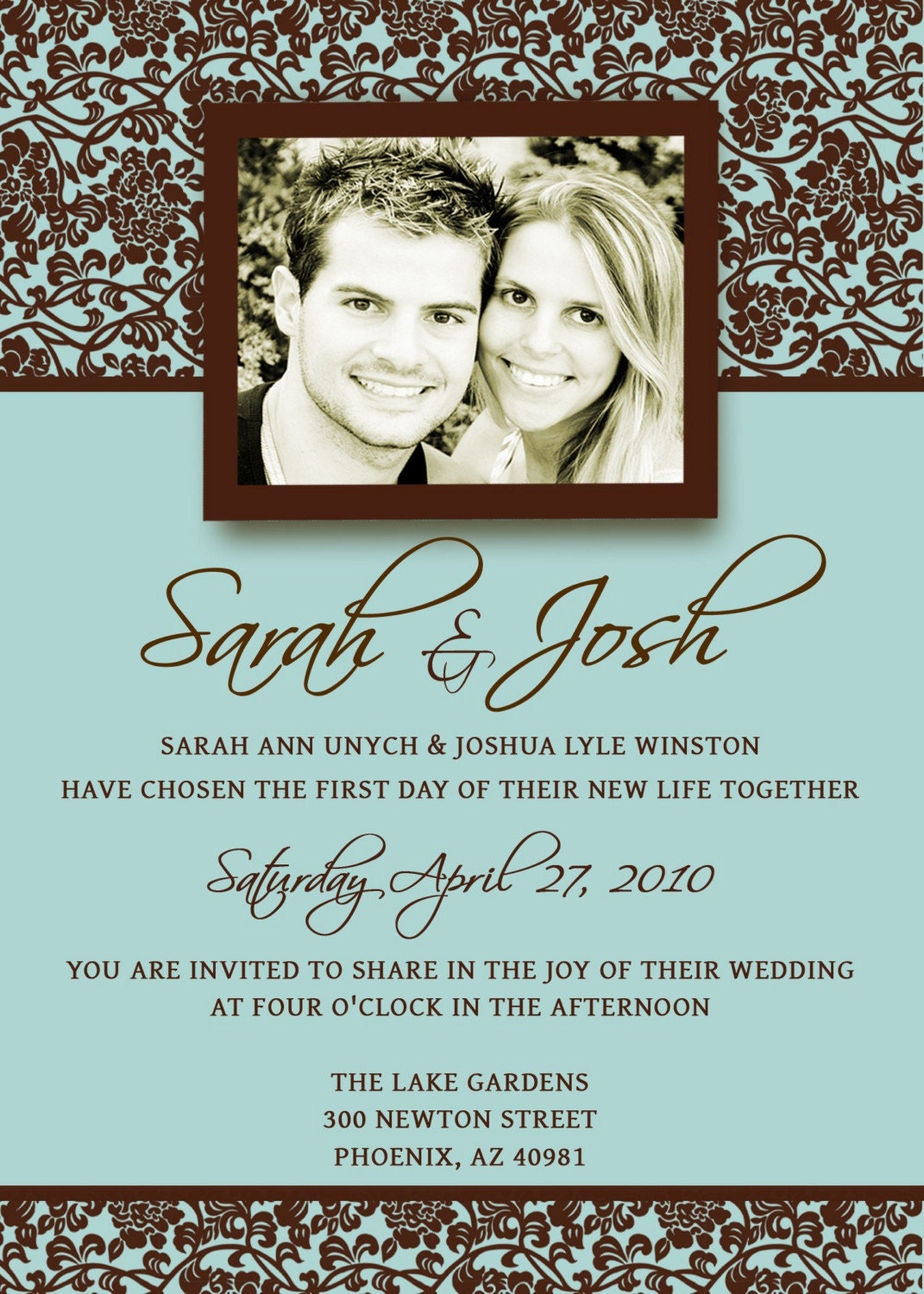 wedding invitations list template