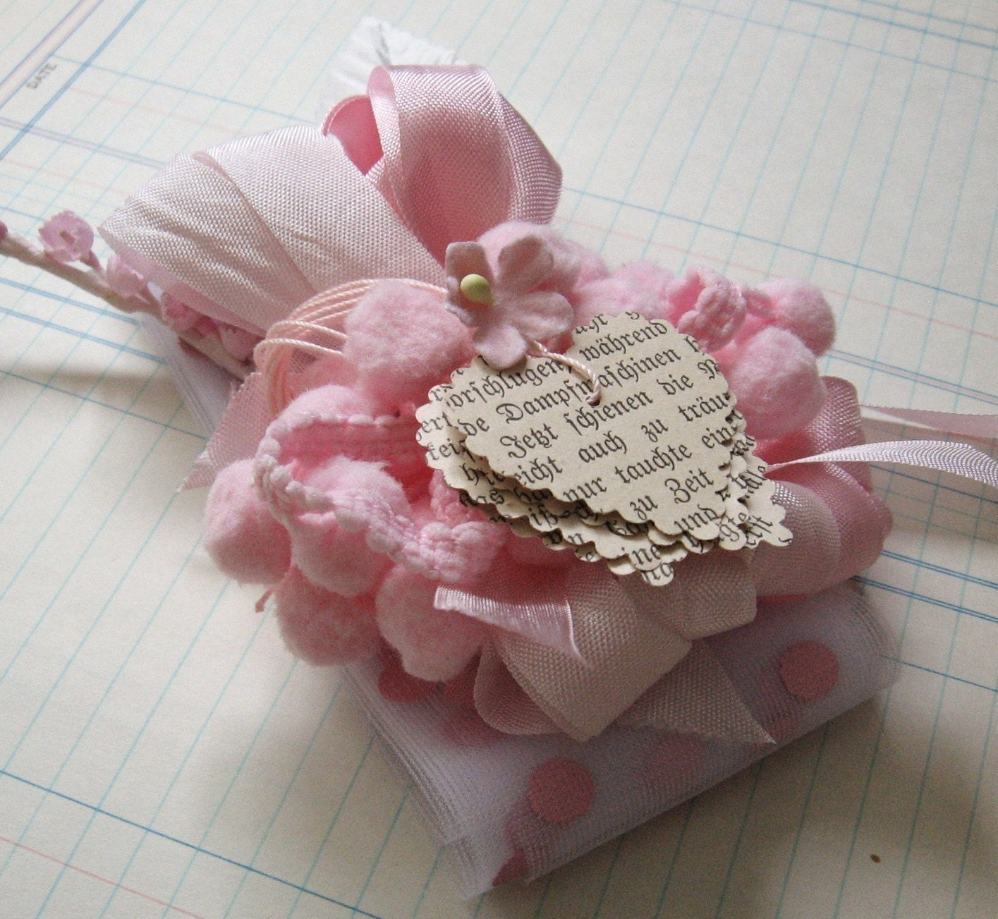 Pretty In Pink Inspiration Set -- Altered Art, Collage, Mixed Media