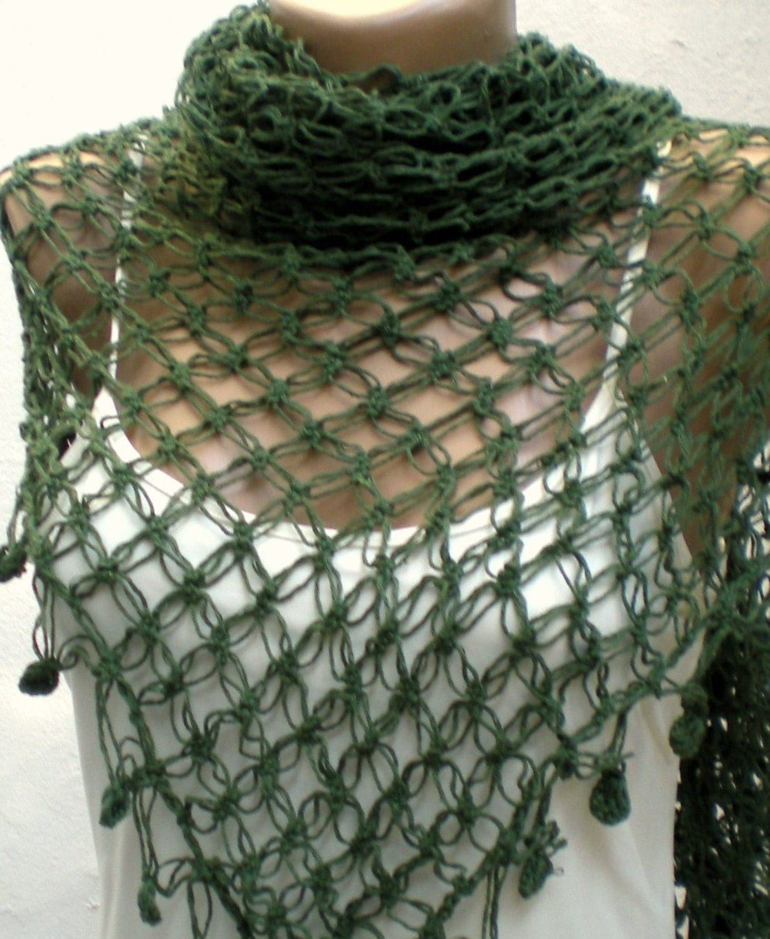 CROCHET COTTON SHAWL ? Crochet For Beginners