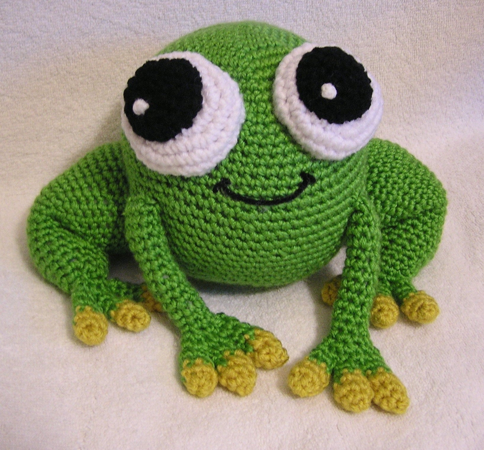 crochet frog pattern free free patterns. Black Bedroom Furniture Sets. Home Design Ideas