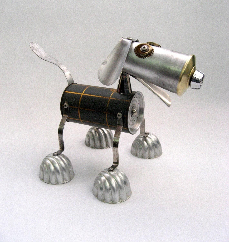 Como hacer robots con materiales reciclados