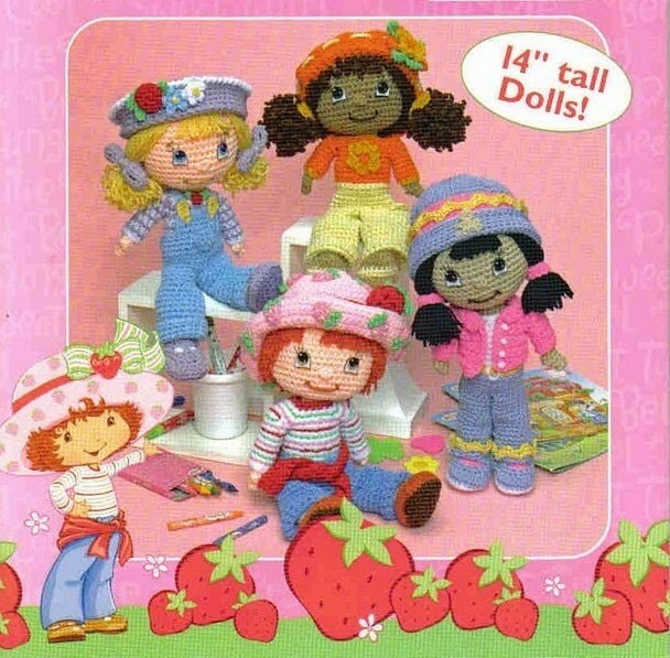 Amazon.com: Strawberry Shortcake Doll in Purse: Plum Pudding