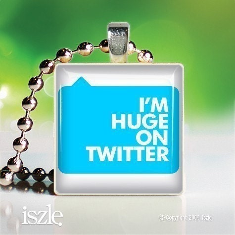 twitter scrabble necklace