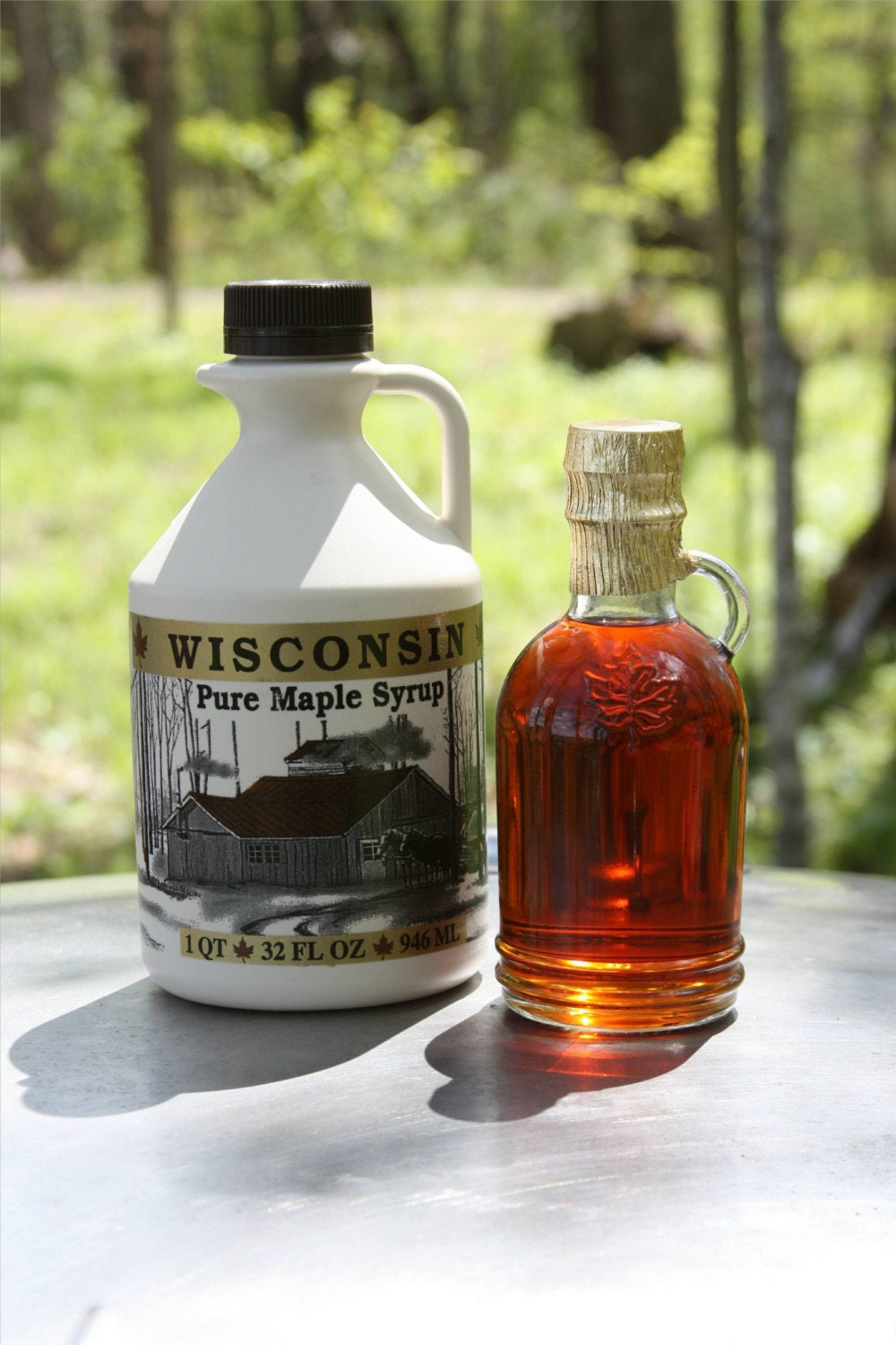 PURE WISCONSIN MAPLE SYRUP