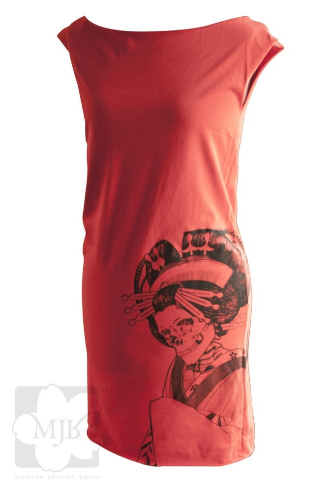 Oiran T-Shirt Dress - Sizes S/M/L/XL