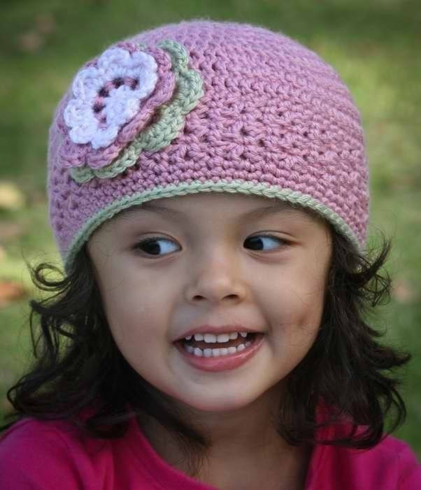 Crochet Patterns Free Childrens Hats : BEANIE CROCHET HAT PATTERN FREE PATTERNS