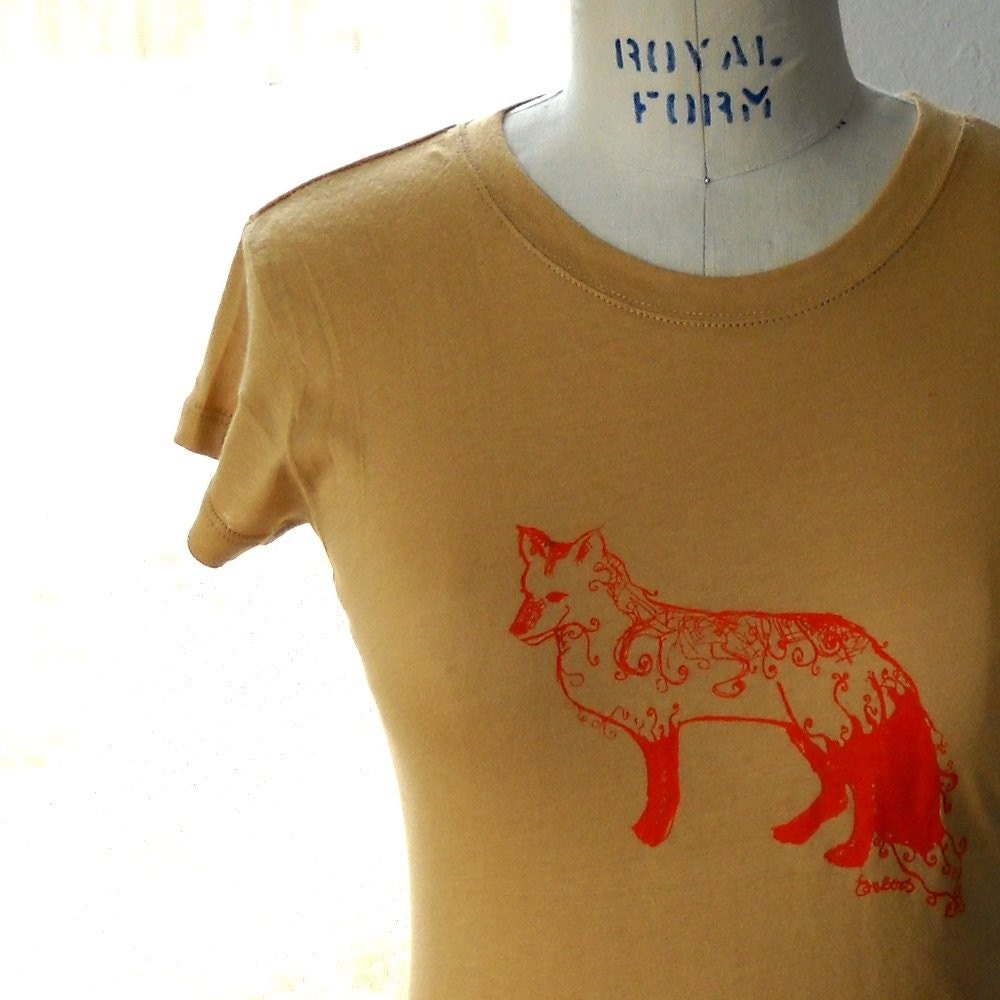 Fox Tee JUNIORS medium