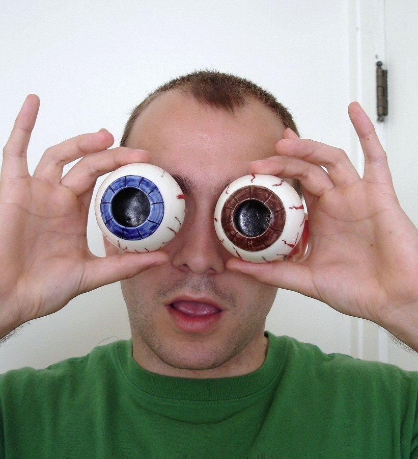 funny shot glasses. Ceramic SHOT GLASSES / Fun