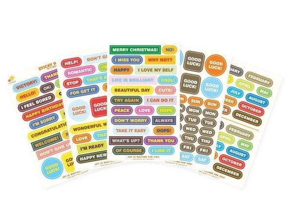 sticky words - index sticker (5sheets)