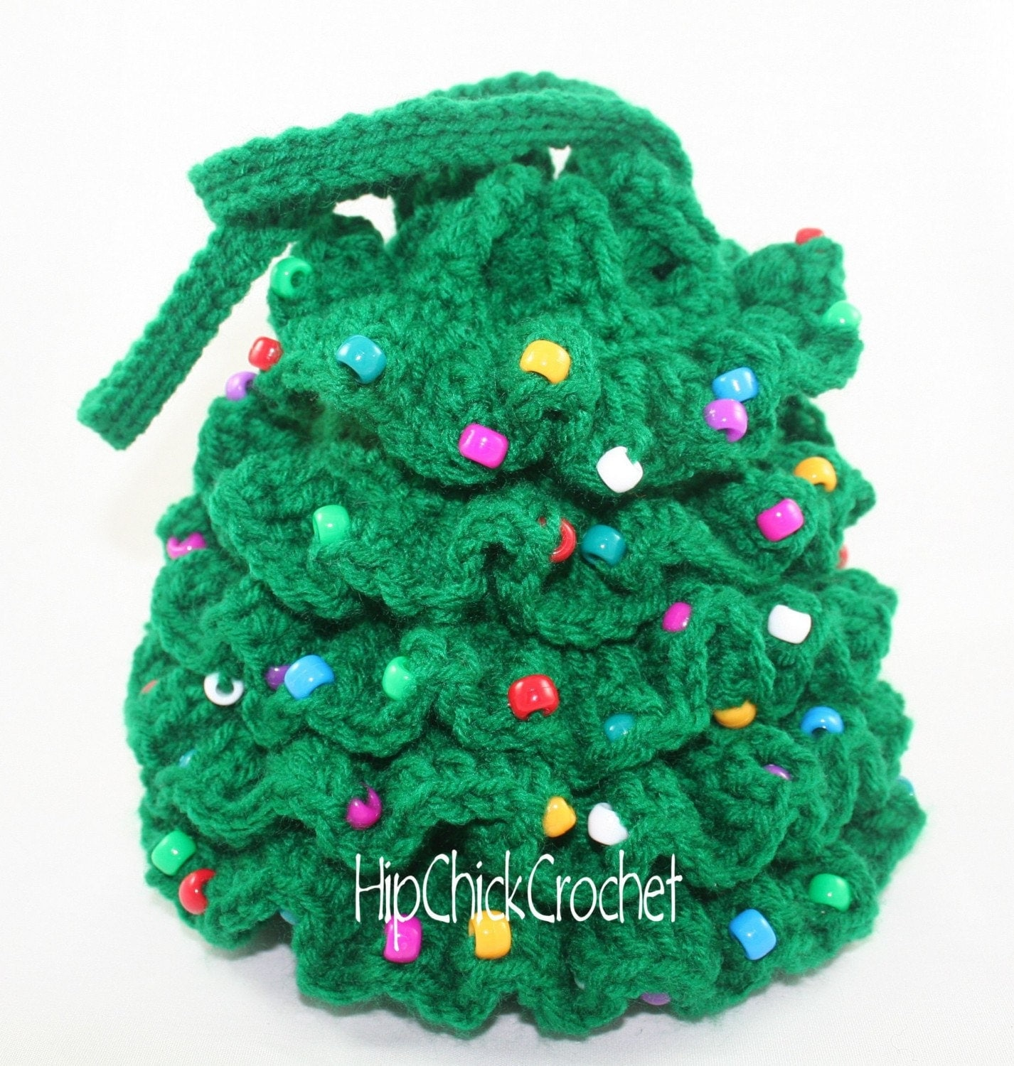 Crochet Patterns Xmas : CHRISTMAS TREE COASTER Crochet Pattern - Free Crochet Pattern