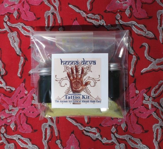 Henna Deva Professional Henna Tattoo Kit. From HennaDeva