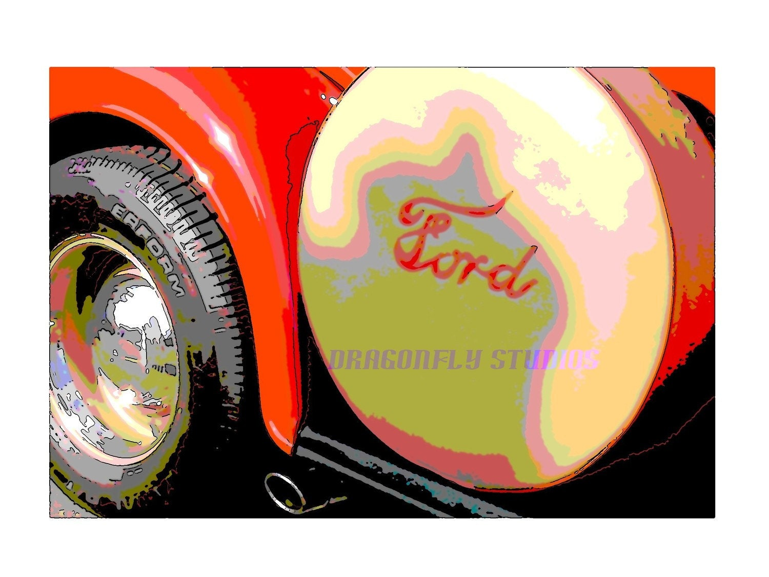 CLASSIC HOT CARS-- FORD/LOGO
